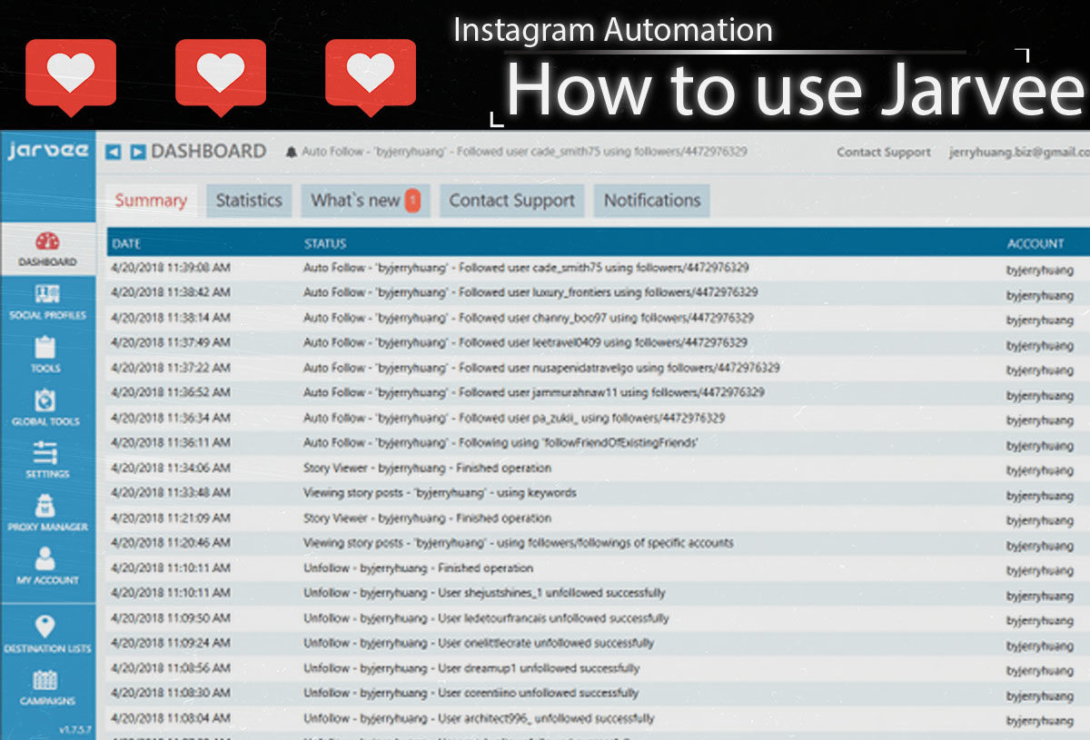 Jarvee – A Complete Guide To Instagram Automation